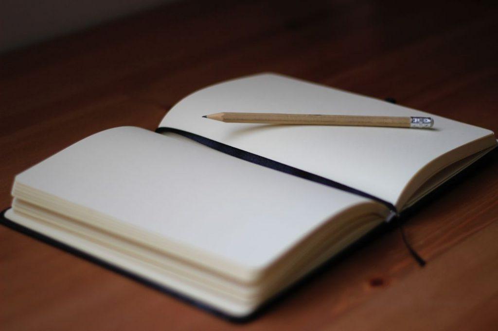 Anammese ist wie ein Buch zu öffnen und das zeigt dieses Bild und so kann ein Newsletter und Blog auch neue Seiten zeigen.